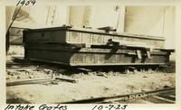 Lower Baker River dam construction 1925-10-07 Intake Gates