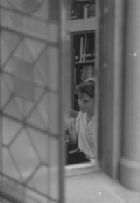 1993 Library: Student Studying