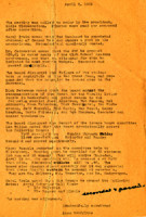 AS Board Minutes 1951-04