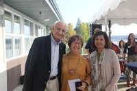 President Randhawa and Uzma with Nancy Bluestein Johnson