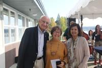 President Randhawa and Uzma with Nancy Bluestein Johnson