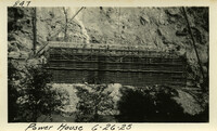 Lower Baker River dam construction 1925-06-26 Power House