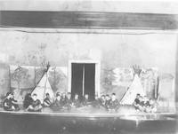 1930 Play Based On Story Of Ojibwa And Blackfoot Indian Tribes (Third Grade)