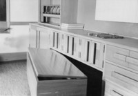 1944 Work Room Cupboards