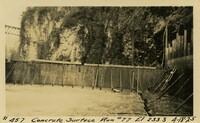 Lower Baker River dam construction 1925-04-18 Concrete Surface Run #77 El.233.3