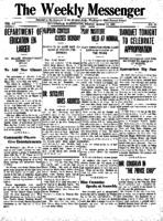Weekly Messenger - 1921 March 18