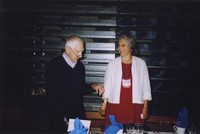 2007 Reunion--Charles Lind and Caroline (Stimpson) McDonald at the Banquet