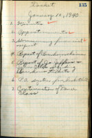 AS Board Minutes 1940-01