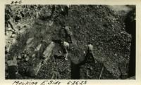 Lower Baker River dam construction 1925-06-26 Mucking E. Side