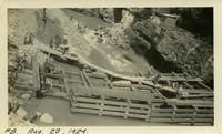 Lower Baker River dam construction 1924-08-23 Coffer dam