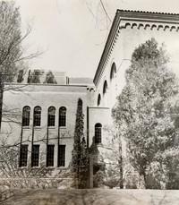 1950 Library: Southeast Facade