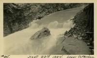 Lower Baker River dam construction 1924-09-23 Lower Cofferdam - Flood area