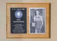 Hall of Fame Plaque: Dave VanderG