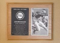 Hall of Fame Plaque: Jon Brunaugh, Football (Running back), Class of 2007