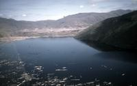 Castle Lake, formed by the eruption, about five miles northwest of the crater.