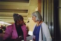 2007 Reunion--Lois Spratlen and Susan (Stimpson) Trimingham
