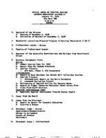 WWU Board minutes 1979 January