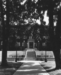 1987 Old Main: Main Entrance