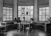 1943 First Grade Reading Alcove