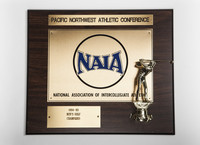 Golf (Men's) Plaque: Pacific Northwest Athletic Conference Champions, 1994/1995