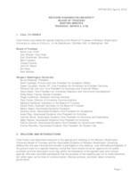WWU Board of Trustees Minutes: 2016-03-03