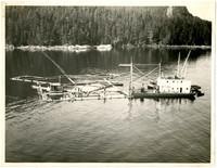 Floating Salmon Trap