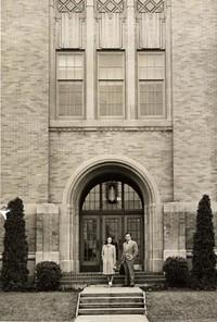 1946 Campus School Building Main Entrance