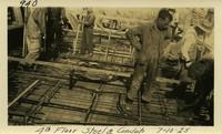 Lower Baker River dam construction 1925-07-10 4th Floor Steel & Conduits
