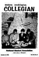 Western Washington Collegian - 1961 October 6