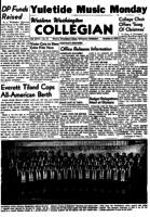 Western Washington Collegian - 1950 December 8