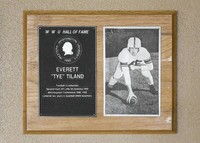 Hall of Fame Plaque: Everett