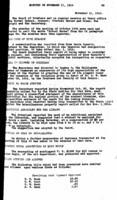 WWU Board minutes 1914 November