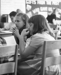 1964 Karen Hovde and Bonnie Edwards