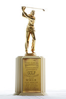 Golf (Men's) Trophy: Third Annual Washington Intercollegiate conference championship, undated