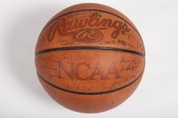 Basketball (Men's): Signed basketball, undated