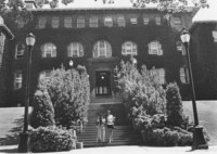 1972 Old Main: Main Entrance