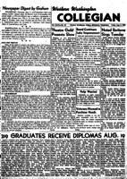 Western Washington Collegian - 1949 August 5