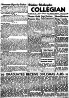 Western Washington Collegian - 1949 August 5