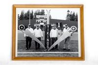 Football Photograph: Chain Crew, Civic Stadium, undated