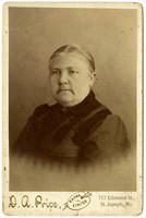 Studio portrait of Sally Thompson