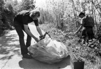 1972 Garbage Clean-Up on Sehome Hill Arboretum
