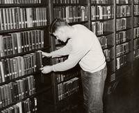 1955 Library: Reserve Book Room
