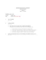WWU Board of Trustees Packet: 2013-04-11