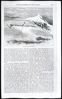 Mountaineering on the Pacific (copy of page 13 of article from Harper's New Monthly Magazine)
