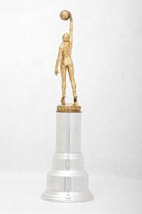 Basketball (Men's) Trophy: Inspirational Award (back), 1947/1956