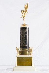 Baseball Trophy: Evergreen Conference Champions, 1957