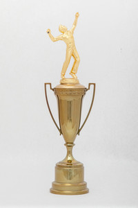 Tennis Trophy: Conference Meet Team Cup (front), 1923