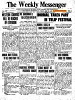Weekly Messenger - 1921 April 29