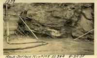 Lower Baker River dam construction 1925-08-24 Rock Surface Run #198 El.384