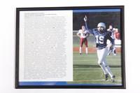 Football Photograph: Michael Koenen, Punter/Placekicker, #19, list of honors and             records, 2002/2004